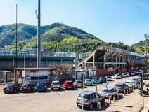 Stadio Sinigaglia stadium in Como HDR. COMO, ITALY - CIRCA APRIL 2017: Stadio Giuseppe Sinigaglia stadium HDR Royalty Free Stock Photos
