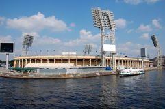 Stadio a St Petersburg Immagine Stock