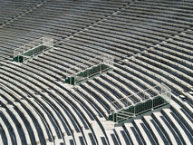 Stadio vuoto Immagine Stock