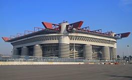 Stadioen Giuseppe Meazza som gemensamt är bekant som San Arkivbild