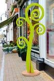 Stadiometer - bloem van de boom de dichtbijgelegen opslag Royalty-vrije Stock Fotografie