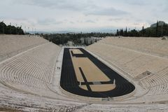 Stadion在雅典 图库摄影