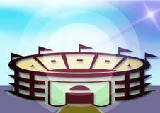 Stadion lizenzfreie abbildung