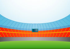 Stadion Stock Illustratie