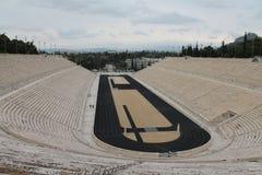 Stadion in Athen stockfotografie