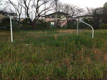 Stadion av ett universitet i Japan arkivfoton