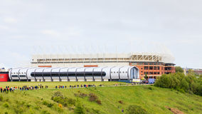 Stadion av ljus arkivbilder