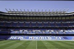 Stadion av Real Madrid Royaltyfria Bilder