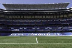 Stadion av Real Madrid Royaltyfri Fotografi
