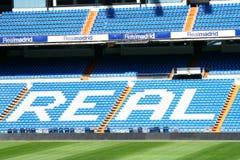 Stadion av Real Madrid Fotografering för Bildbyråer