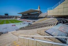 Stadion in Barcelona royalty-vrije stock fotografie