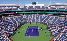 Stadion bei BNP 2009 Paribas geöffnet Lizenzfreies Stockfoto