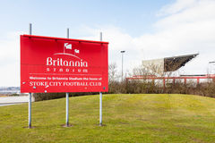 Stadion Bet365 fotografering för bildbyråer