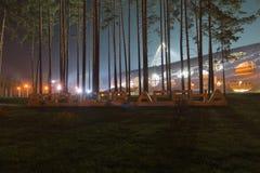Stadion in Borissow lizenzfreie stockfotos