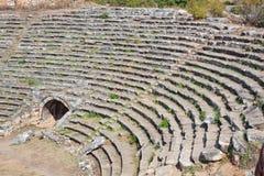 Stadion in den Aphrodisias Stockfotografie