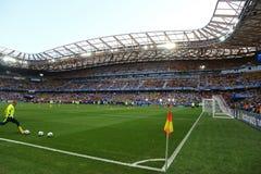 Stadion der Allianzs Riviera in Nizza, Frankreich Lizenzfreie Stockbilder