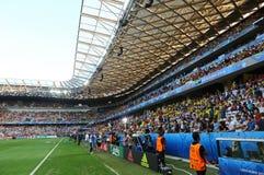 Stadion der Allianzs Riviera in Nizza, Frankreich Lizenzfreie Stockfotografie