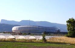 Stadion der Allianzs Riviera in Nizza, Frankreich Stockfotos