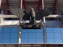 Stadion der Leuchte stockbild