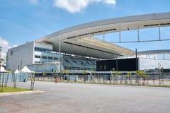 Stadion des Sport Club Corinthians Paulista in Sao Paulo, Brasilien stockfoto