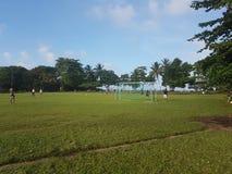 Stadion, Dorf von Tortuguero, Costa Rica lizenzfreies stockfoto