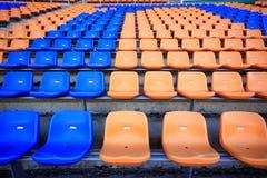 Stadion en zetel Stock Foto's
