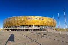 Stadion Energa Gdansk Arkivbilder