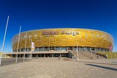 Stadion Energa Gdansk Arkivbild