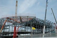 stadion för 2 konstruktion royaltyfri fotografi