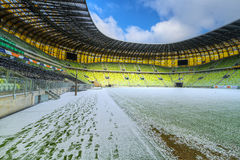 stadion för 43 615 arenapgeåskådare Arkivbilder