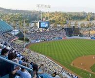 stadion för angeles baseballlos Fotografering för Bildbyråer