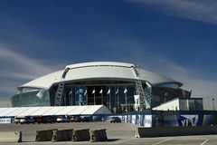 stadion för barriärcowboyssäkerhet Arkivfoton