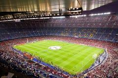 Stadion för FC Barcelona Arkivfoton