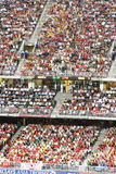 stadion för fotbollHong Kong match Arkivfoto