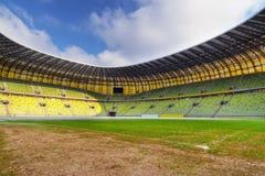 Stadion für Eurocup 2012 in Gdansk Stockbilder