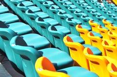 stadion för tomma platser för åhörare Arkivbilder