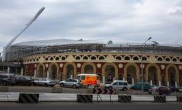 Stadion f?r de europeiska lekarna royaltyfri fotografi