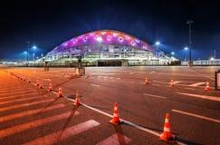 Stadion Fisht in het Olympische Park in Sotchi Stock Afbeeldingen