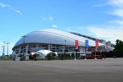 Stadion ` Fisht ` in het Olympische Park van Sotchi Stock Afbeelding