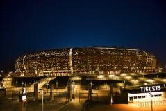 Stadion FNB - Nationaal Stadion (de Stad van het Voetbal) Stock Foto