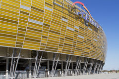Stadion in Gdansk Royalty-vrije Stock Afbeelding