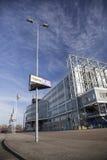 Stadion gelredome in de Nederlandse stad van Arnhem Stock Afbeeldingen