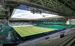 Stadion geoffroy-Guichard in Saint-Etienne, Frankrijk royalty-vrije stock foto's