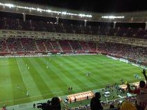 Stadion Guadalajara Mexique Images libres de droits