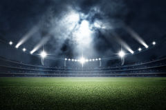 Stadion, het 3d teruggeven stock afbeeldingen