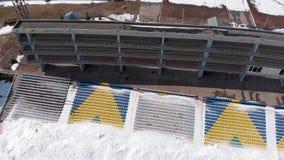 Stadion im Freien im Fr?hjahr stock footage
