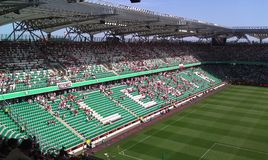 Stadion Legii Lizenzfreies Stockfoto