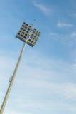 Stadion-Leuchten Stockbilder