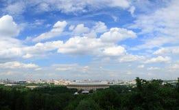 Stadion Luzhniki, Moskou Royalty-vrije Stock Foto's