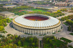 Stadion Luzniki in Moskau, Russland Stockbild